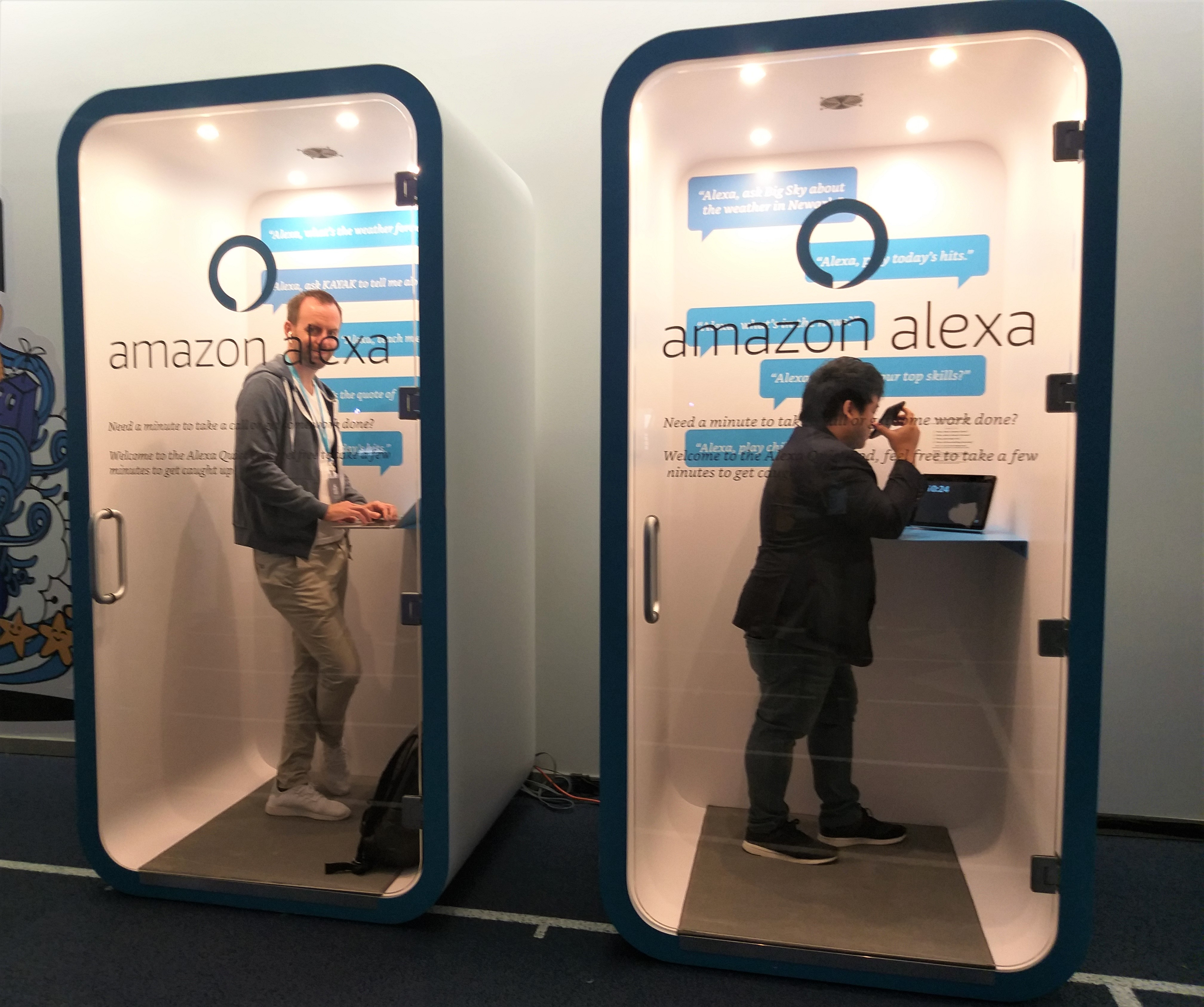 Alexa work booths