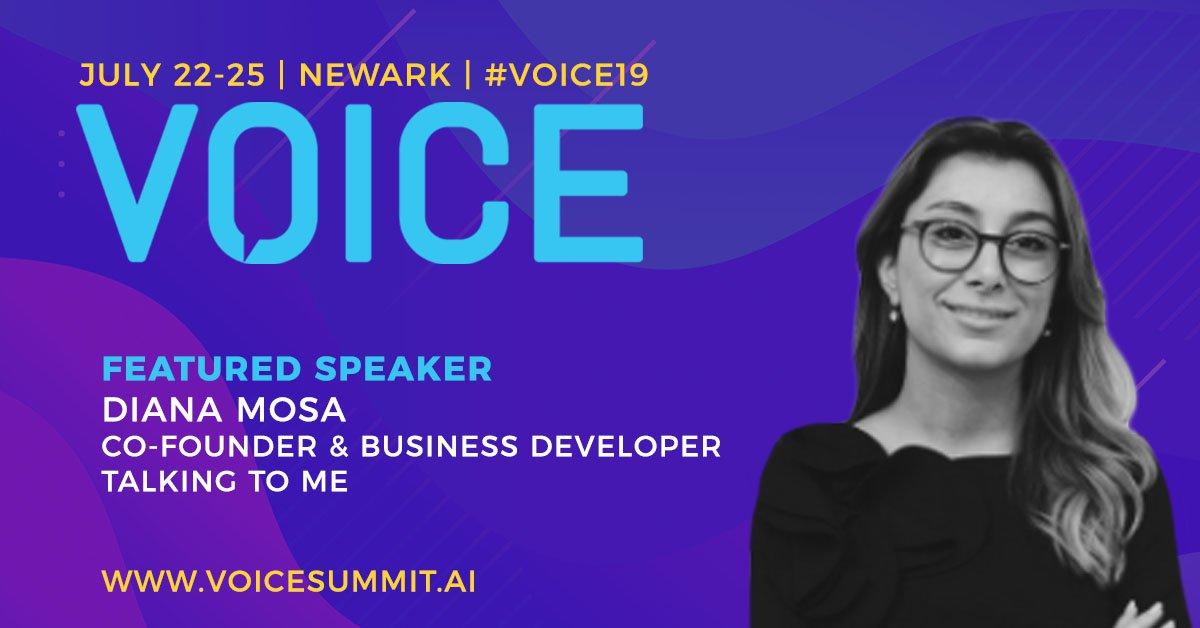 Diana Mosa VOICE Summit