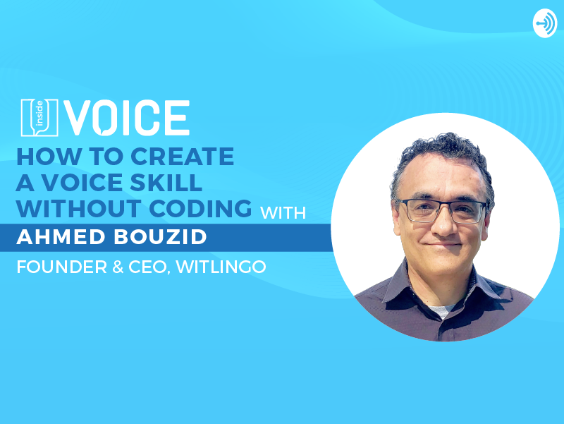 How to create a voice skill without coding_podcast banner