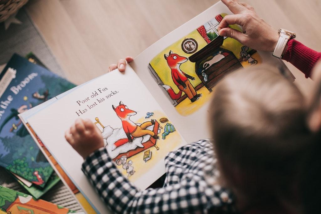 Storytelling children voice tech novel effect