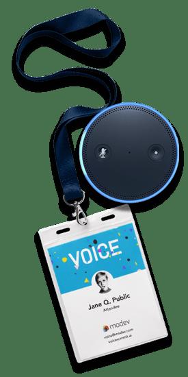 VOICE Summit  lanyard