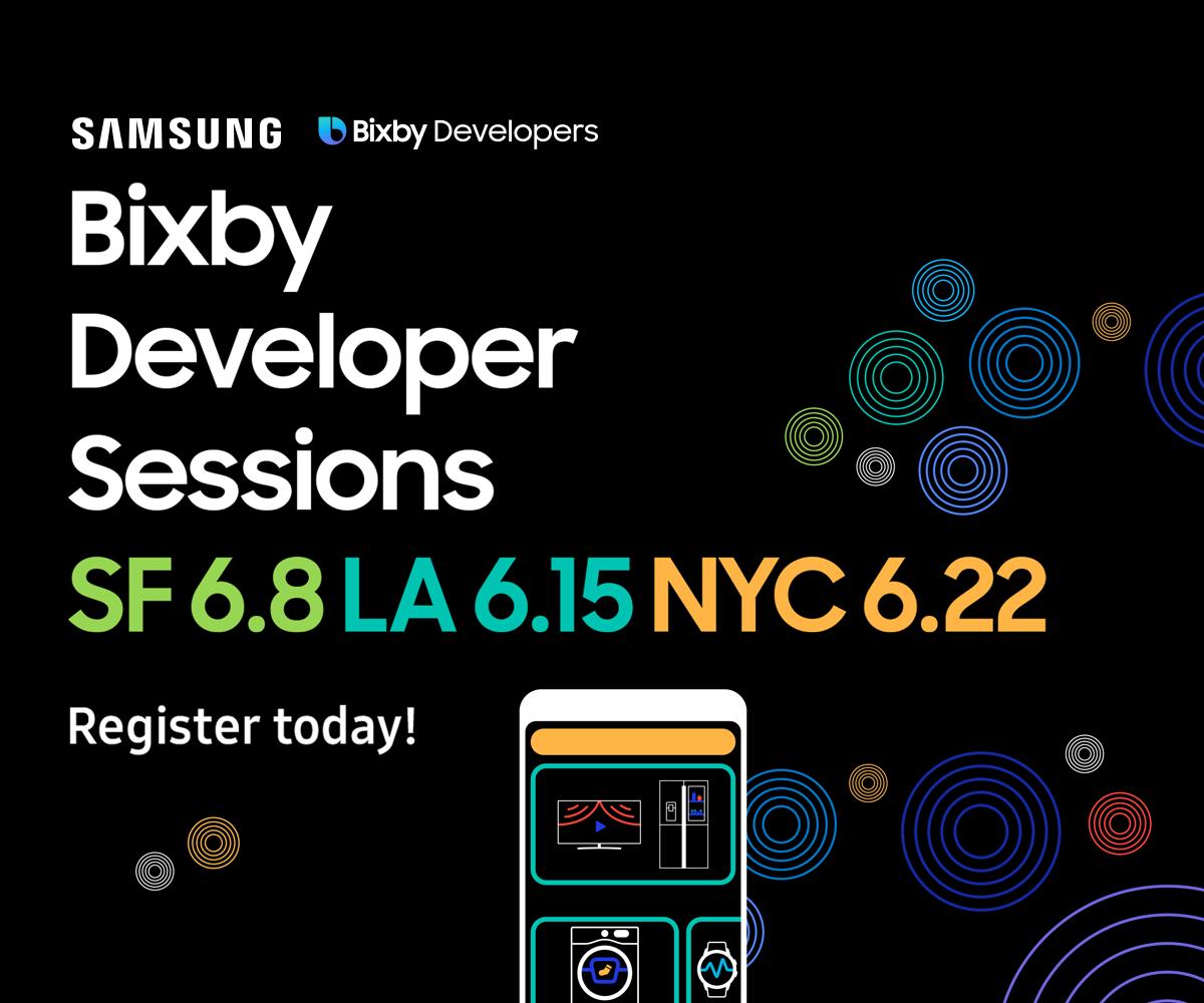 Bixby Developer Sessions