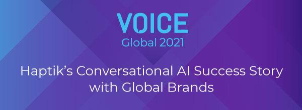 Haptik's Conversational AI Success Story with Global Brands