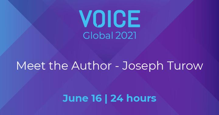 Meet the Author - Joseph Turow